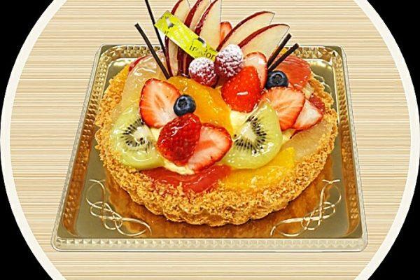 果実のタルト