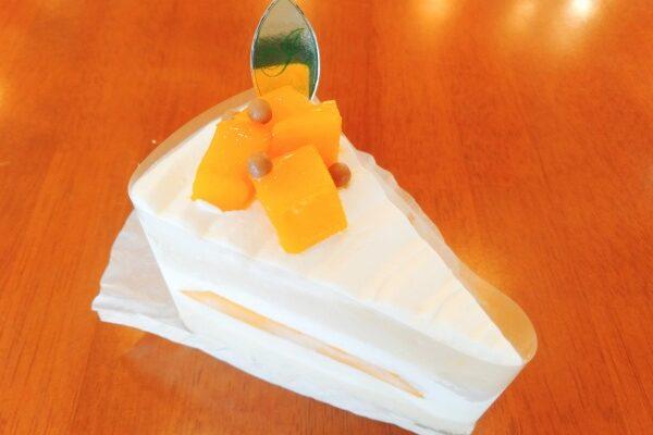 ダイヤマンゴーのショートケーキ